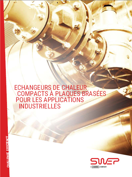 Application industrielle swep